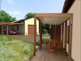 Vizualizace zahrady (Prodej, rodinný dům, 216 m2, Hořešovičky), foto 2/17