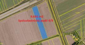 Prodej, pole, 6775 m2, Hulín