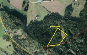 Prodej, les, 10451m2, Zdíkov - Žírec, Šumava