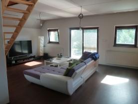 Obývací pokoj III. (Prodej, mezonetový byt 4+kk, 200 m2, Fr. Lázně - Hor. Lomany), foto 3/21
