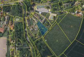 Prodej, pozemek, 1285 m2, Lípa - Petrkov