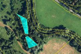 Prodej, les, 1367 m2, Široká Niva-Skrbovice