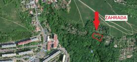 mapa (Prodej, zahrada, 1810 m2, Ústí nad Labem, Dobětice), foto 4/12