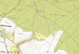 Mapa (Prodej, lesní pozemek, 7764 m2, Bratřice), foto 2/3