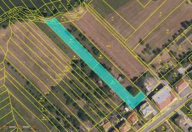 mapa of (Prodej, pozemek, 2500 m2, Opatovice), foto 3/4