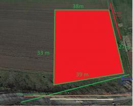 Prodej, stavební pozemek, 1135 m2, Vícov