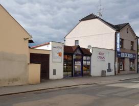 Pronájem, komerční prostory 196 m2, Jindřichův Hradec