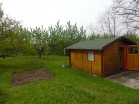 Prodej, zahrada, 881 m2, Nížebohy - Budyně n.Ohří, s chatou