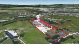 Pronájem, průmyslový pozemek, 24549 m2, Jindřichův Hradec