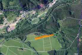 Field, 6234 m2, Děčín, Jílové