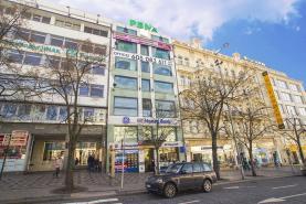 Pronájem, kancelářské prostory, 292m2, Praha, Václavské nám.