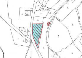 mapa (Prodej, stavební pozemek, 2324 m2, Kryštofovo Údolí), foto 4/12