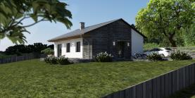 Prodej, pozemek s projektem domu, 904 m2, Rtyně nad Bílinou