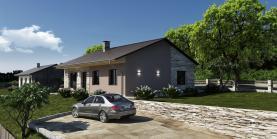 Prodej, pozemek s projektem domu, 942 m2, Rtyně nad Bílinou