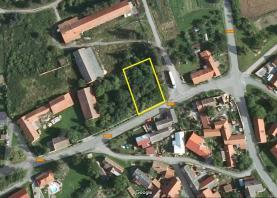 Prodej, stavební pozemek, 1211 m2, Dolní Chvatliny, Mančice