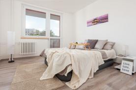 Prodej, byt 2+1, 53 m2, Zlín, ul. Kúty