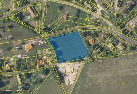 mapa (Prodej, stavební pozemek, 3565 m2, Malečov-Proboštov), foto 3/13