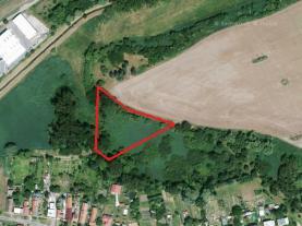Prodej, vodní plocha, 11 445 m2, Český Brod - Liblice