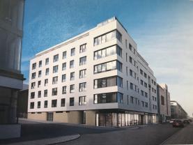 Pronájem, Byt 2+kk + terasa, 70 m2, Plzeň, Poděbradova