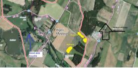 Prodej, pozemek 8633 m2, Horní Myslová - Telč