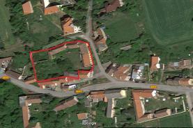 Letecký pohled (Prodej, rodinný dům, 2842 m2, Kvílice), foto 2/16