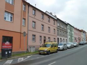 Prodej, byt 2+1, 53 m2, OV, Cheb, ul. Čapkova