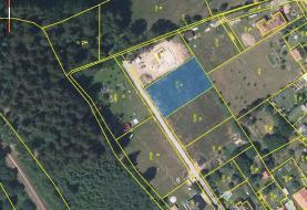 Prodej, pozemek, 1263 m2, Vyskytná nad Jihlavou - Rounek