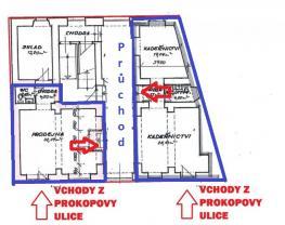 3 (Pronájem, kancelářských prostor, 95 m2, Plzeň ul.Prokopova), foto 3/8