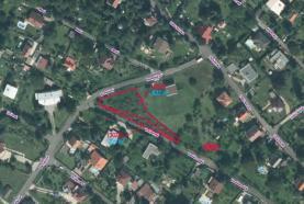 Prodej, stavební pozemek, 1088 m2, Ústí nad Labem - Brná