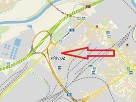 Prodej, komerční pozemek, 2466 m2, Ostrava