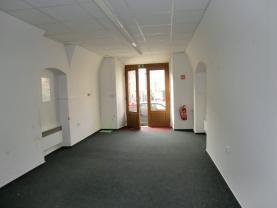 Pronájem, obchod, kancelář, 47 m2, Litomyšl