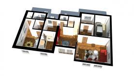 půdorys přízemí (Prodej, rodinný dům 9+1, 650 m², Načeradec), foto 2/25