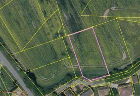 Prodej, pozemek, 1228 m2, Budíkov