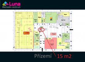 (Pronájem, obchodní prostory, 15 m2, Plzeň - Bory), foto 4/21