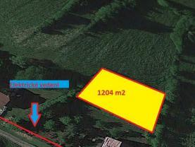 Prodej, stavební pozemek, 1204 m2, Vsetín