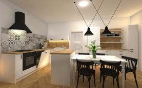 Prodej, byt 3+kk, 93 m2, Plzeň, ul. Dobrovského BYT č. 4