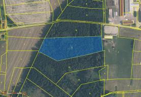 Prodej, les, 62 488 m2, Velešín - Chodeč