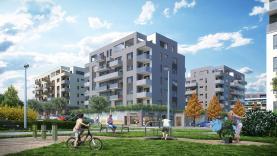 Prodej, byt 2+kk, 53 m2, Praha 9, zahrada a garážové stání