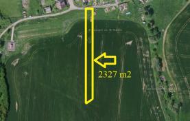 Prodej, stavební pozemek, 2327 m2, Jankov