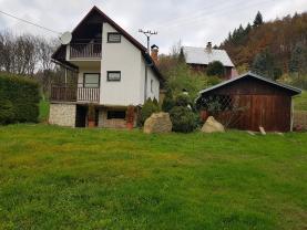 Prodej, chata 2+kk, 65 m2, Luhačovice, pozemek 2050 m2