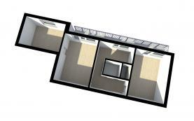 Prodej, byt 3+1, 64 m2, Zruč nad Sázavou, ul. Na Výsluní