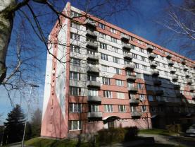 Pronájem, byt 1+1, Jindřichův Hradec, sídliště Vajgar