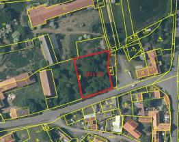 Prodej, stavební pozemek, 1211 m2, Mančice