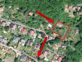 Prodej, stavební pozemek, Brná, ul. Pod Ostrým
