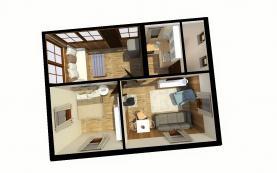 Chata - vizualizace (Prodej, chata, 370 m2, Lštění), foto 3/25