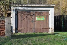 Prodej, garáž, 25 m2, OV, Lom, ul. Havlíčkovo náměstí