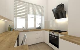 Prodej, byt 2+kk, 56 m2, Plzeň, ul. Dobrovského BYT č. 1