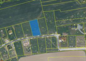 Prodej, Stavební parcela 1498 m2, Šťáhlavice