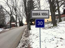 Prodej, stavební pozemek 1450 m2, Dobrá Voda Horní Stropnice