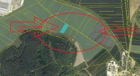 Prodej, pole, 2685 m2, Drásov